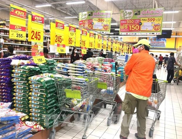 Suben precios de arroz empaquetado en Tailandia hinh anh 1
