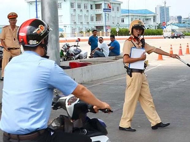 Camboya fortalece sanciones a infractores del transito hinh anh 1