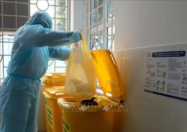 Aplican en Tailandia medidas estrictas para eliminar desechos de COVID-19 hinh anh 1