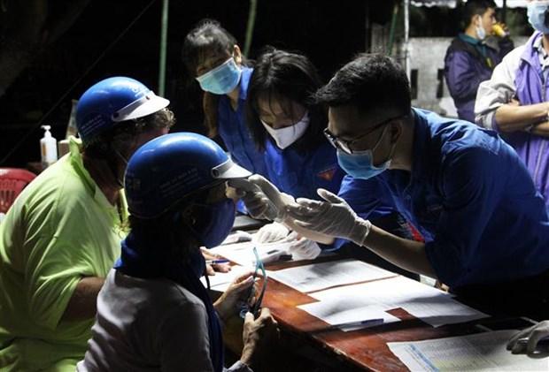 Jovenes de provincia vietnamita apoyan lucha contra SARS-CoV-2 hinh anh 1