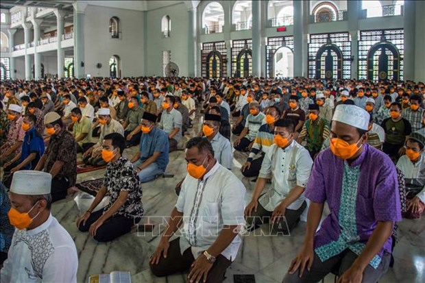 Indonesia pide promulgacion de ordenanza religiosa para variar ceremonia hinh anh 1