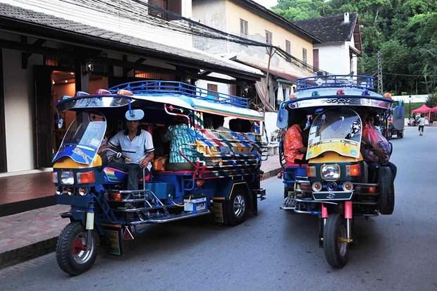 Laos registra tendencia a la baja en intercambio comercial hinh anh 1