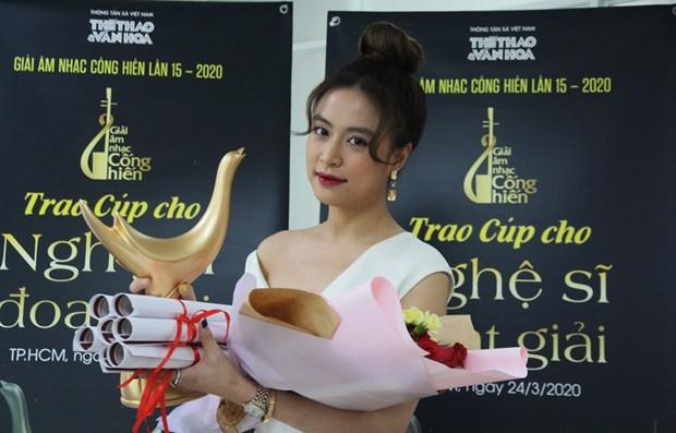"""Anuncian los ganadores de premios musicales """"Cong Hien"""" de VNA hinh anh 1"""