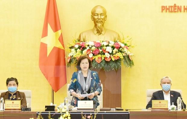 Clausuran Comite Permanente del Parlamento de Vietnam su reunion 43 hinh anh 1