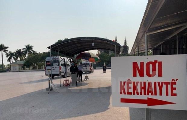 Informa Vietnam sobre nuevos vuelos con pasajeros infectados con SARS- CoV-2 hinh anh 1