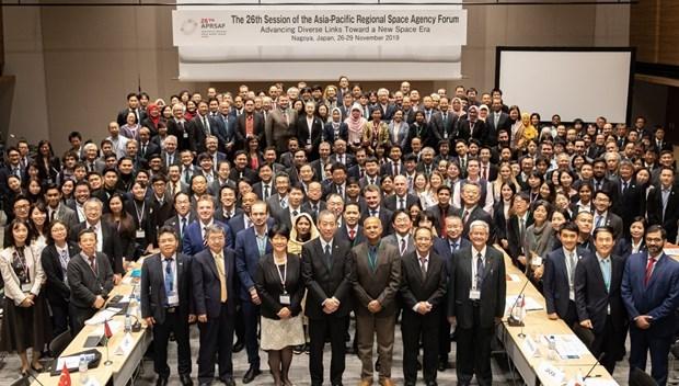 Acogera Hanoi Foro de Agencias Espaciales de Region Asia-Pacifico hinh anh 1