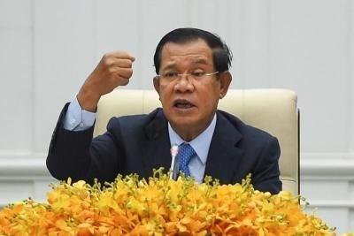 Camboya cancela reuniones internacionales debido a coronavirus hinh anh 1