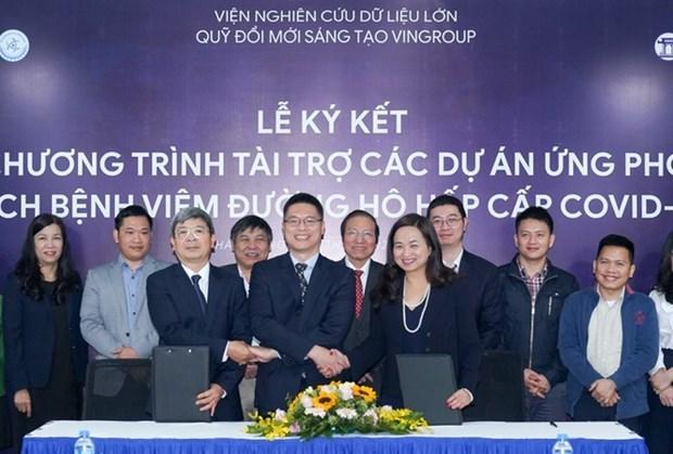 Ofrece Vingroup cuatro millones de dolares para lucha contra el COVID-19 hinh anh 1