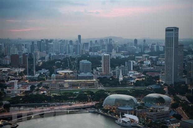 Economia de Singapur retrocede debido al COVID-19 hinh anh 1