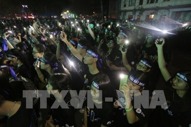 Intensifican en Vietnam divulgacion sobre la campana Hora del Planeta 2020 hinh anh 1