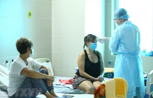A 163 asciende numero de casos de COVID-19 en Vietnam hinh anh 1