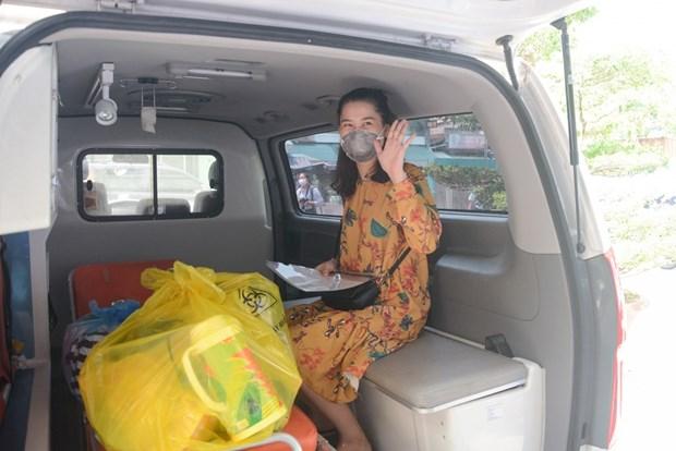 Reciben el alta medica en Vietnam tres pacientes mas del COVID-19 hinh anh 1