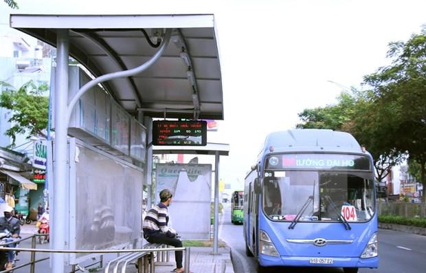 Reduce Ciudad Ho Chi Minh servicios de transporte publico hinh anh 1