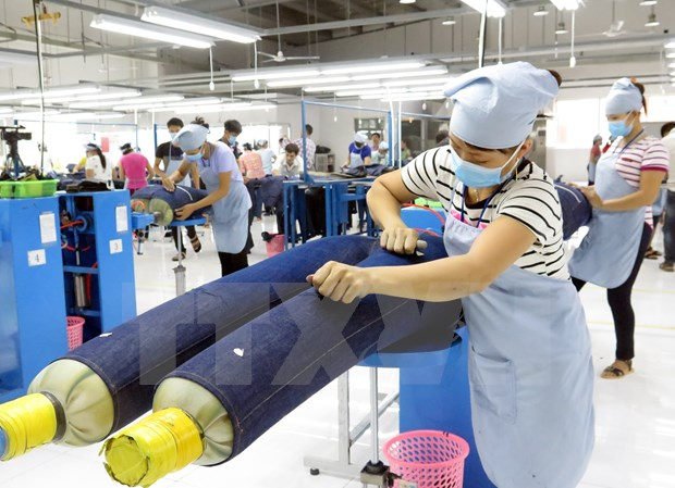 Ingresa Vietnam mas de cinco mil millones de dolares de exportaciones textiles hinh anh 1