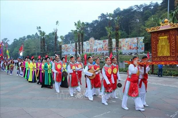 Suprimiran celebraciones multitudinarias en Festival del Templo de Reyes Hung hinh anh 1