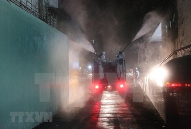 Traza Hanoi medidas drasticas para frenar propagacion de COVID-19 hinh anh 1