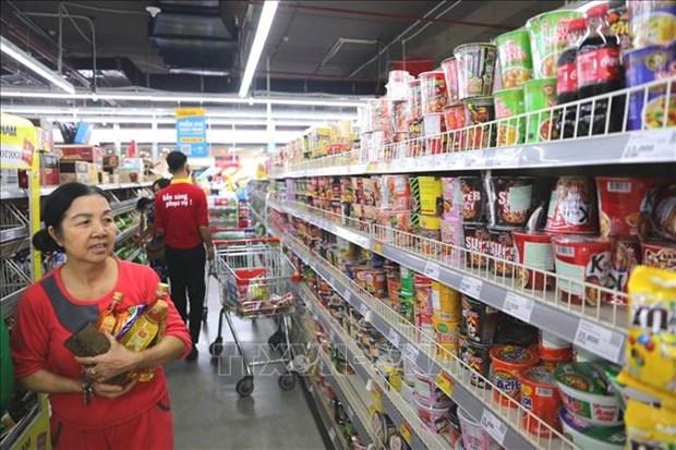 En curva descendente indice de precios al consumidor de Hanoi hinh anh 1