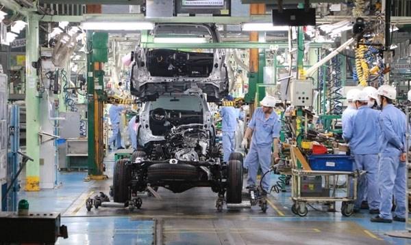 Toyota Motor Vietnam suspende la produccion de vehiculos hinh anh 1
