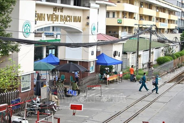 Ofrecen asistencia al Hospital Bach Mai para prevenir epidemia hinh anh 1