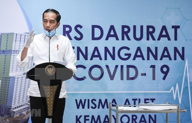 Indonesia declara emergencia nacional de salud publica por pandemia de coronavirus hinh anh 1