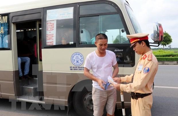 Ciudad Ho Chi Minh limita actividades de vehiculos dedicados al transporte colectivo hinh anh 1