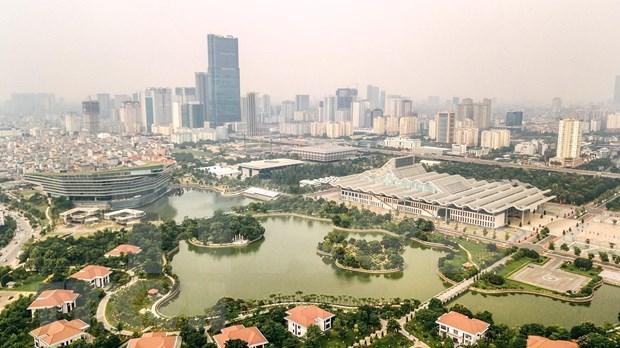 Economia de Hanoi crece pese a la sombra del coronavirus hinh anh 1