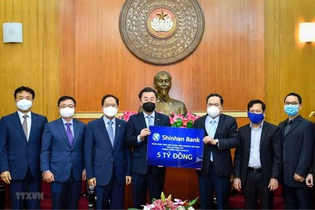 Corea del Sur contribuye a frenar propagacion del COVID-19 en Vietnam hinh anh 1