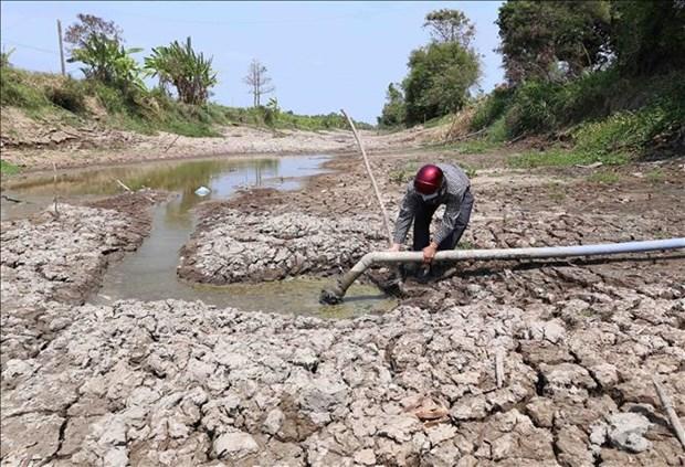 Partido Comunista de Vietnam por fortalecer liderazgo en la prevencion y lucha contra desastres naturales hinh anh 1