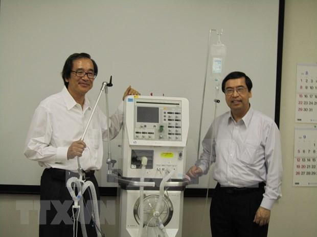 Empresa japonesa producira ventiladores mecanicos para Vietnam hinh anh 1