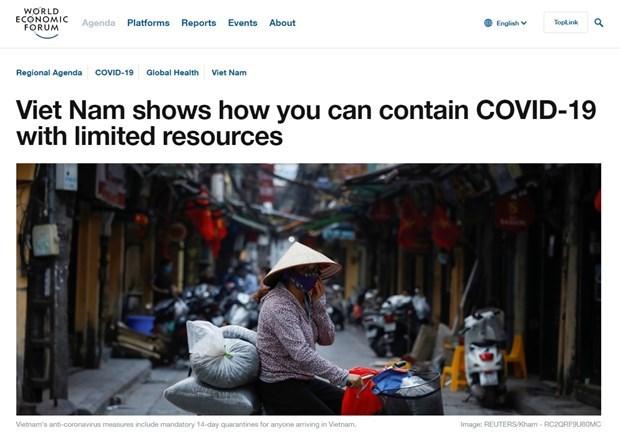 """Resalta FEM a Vietnam como """"faro"""" en lucha contra COVID-19 hinh anh 1"""
