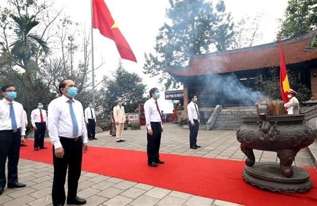 Conmemoran en Vietnam a los Reyes Hung hinh anh 1
