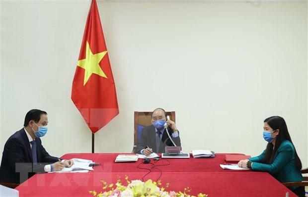Abogan Vietnam y Corea el Sur por cooperacion internacional en enfrentamiento a COVID-19 hinh anh 1