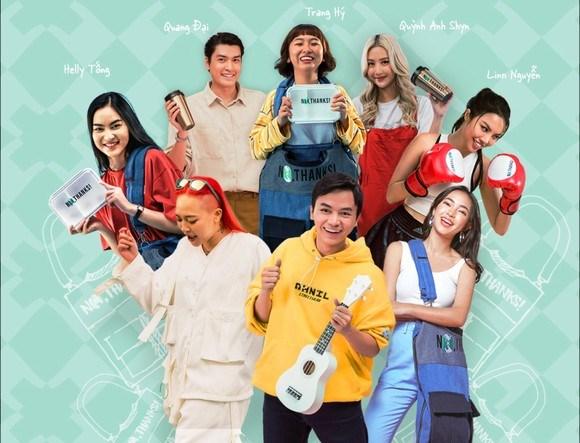 Artistas vietnamitas se unen a lucha contra plasticos desechables hinh anh 1