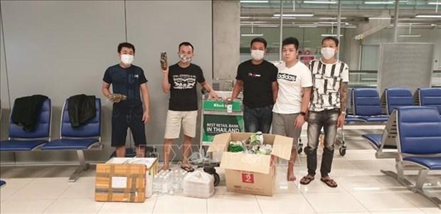 Embajada vietnamita en Bangkok respalda a compatriotas varados en aeropuerto tailandes hinh anh 1