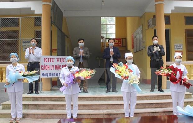 Vietnam confirma 95 casos recuperados del COVID-19 hinh anh 1