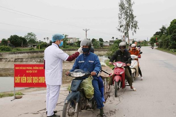 Provincia vietnamita de Hai Duong garantiza la vida de pobladores en medio de pandemia hinh anh 1