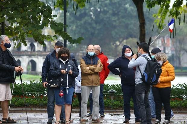 Cifra de turistas en Vietnam registra severa reduccion en marzo hinh anh 1