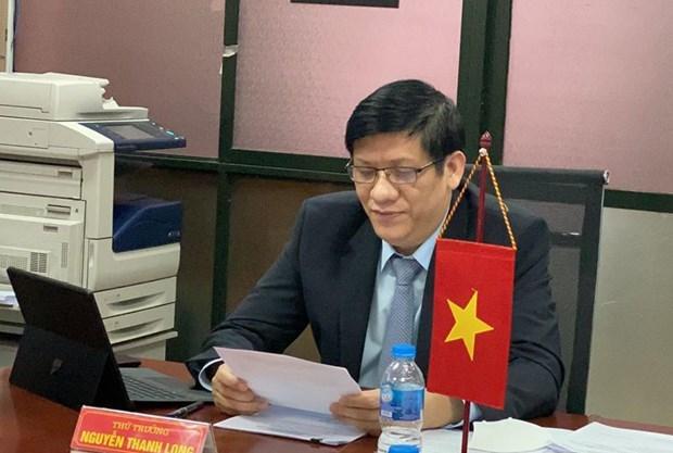 Vietnam y Laos cooperan en la lucha contra coronavirus hinh anh 1