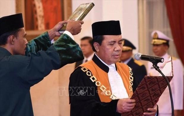 Indonesia designa nuevo juez principal para Corte Suprema hinh anh 1