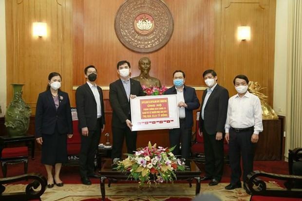 Ministerio de Salud de Vietnam recibe donacion de suministros medicos hinh anh 1
