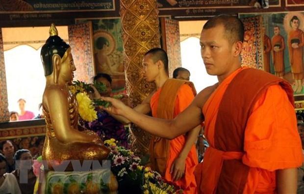 Provincia vietnamita visita a comunidad Khmer en ocasion de su fiesta tradicional hinh anh 1