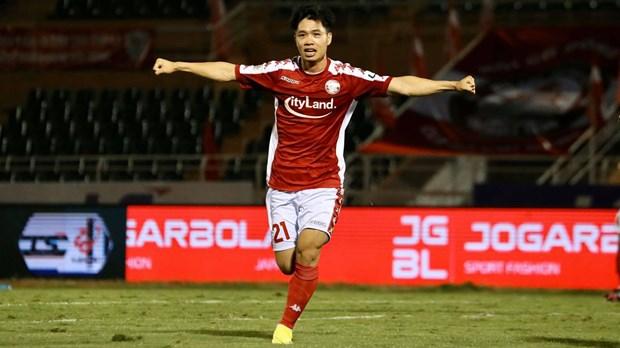 Otro futbolista vietnamita se une a campana de AFC contra el COVID-19 hinh anh 1