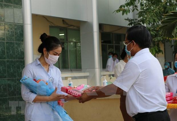 Crece numero de casos curados de coronavirus en Vietnam hinh anh 1