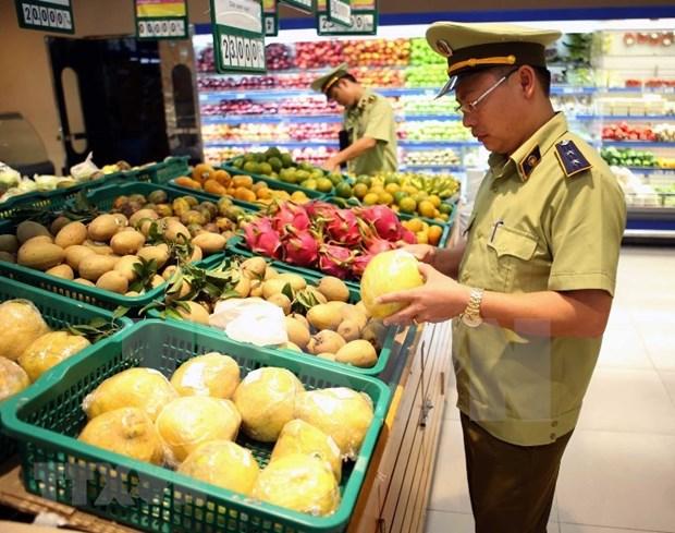 Provincia vietnamita de Bac Giang fortalece garantia de inocuidad alimentaria hinh anh 1