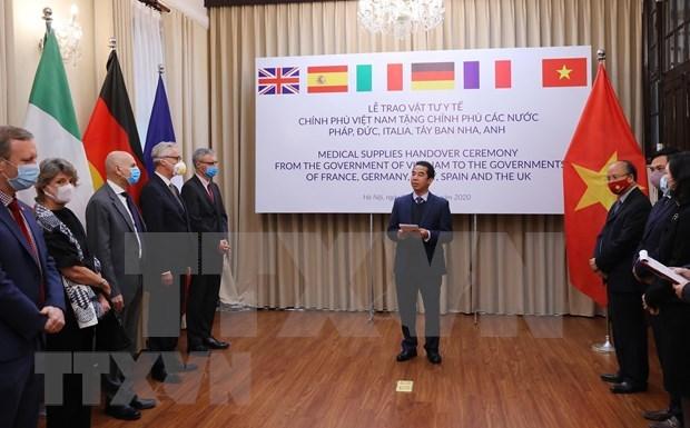 Prensa alemana realza apoyo de Vietnam a paises europeos en lucha contra el COVID- 19 hinh anh 1