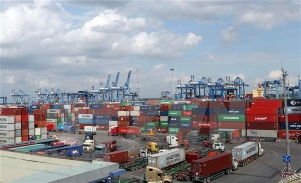 Aumenta volumen comercial de Vietnam por puertos maritimos hinh anh 1