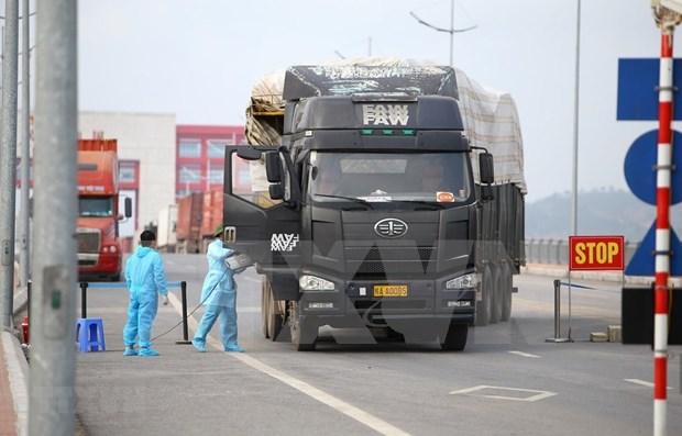 Reanudacion de despacho aduanero en puertas fronterizas en Vietnam facilita comercio hinh anh 1
