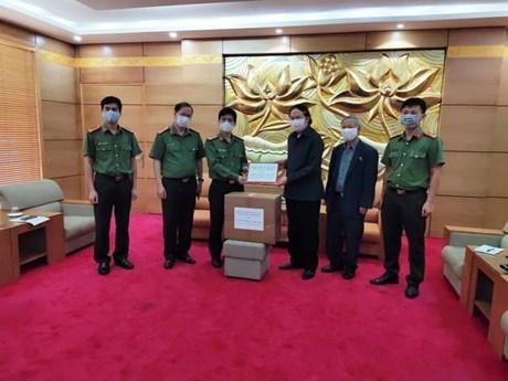 Asociacion de Amistad Vietnam- Laos respalda a pais vecino en combate contra COVID-19 hinh anh 1