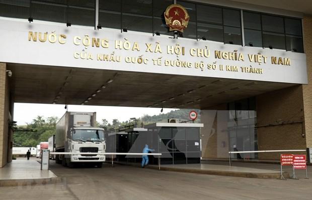 Exhorta Vietnam a intensificar control de comercio en puertas fronterizas con China hinh anh 1