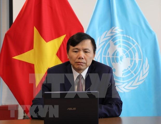 Vietnam exhorta a coordinar asistencia a paises afectados por coronavirus hinh anh 1